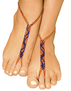 orange crush foot fetish nude shoe barefoot sandals