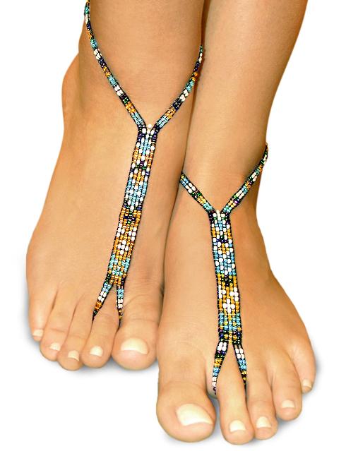 moonlight nude shoe barefoot sandals