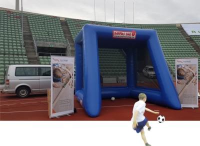 Fotballstasjon med radar