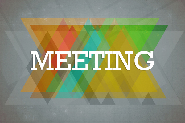 Next Meeting  Wednesday March 15, 2017 2:30-2:45 PM