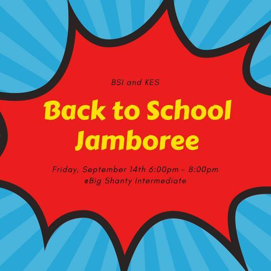 Jamboree 6-8 PM 9/14/18