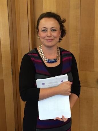 Catherine Mckinnnell MP