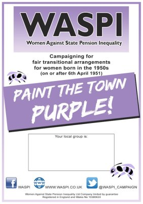 WASPI spread the word