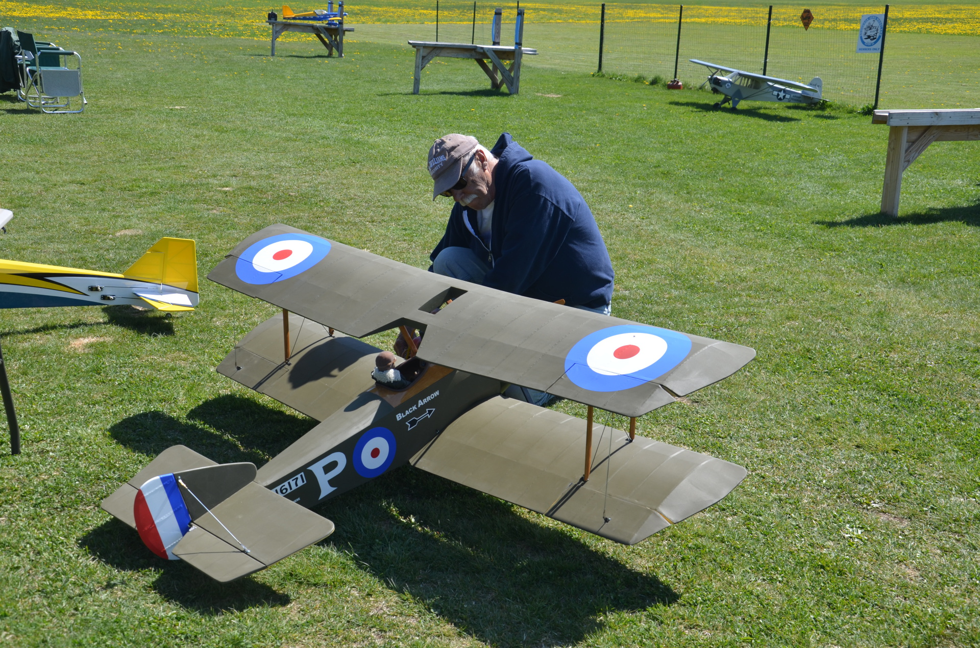 Frank Bove and Sopwith Pup