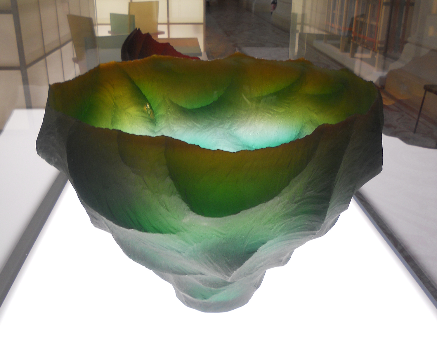 Glass Vessel by Kim Joon-yong