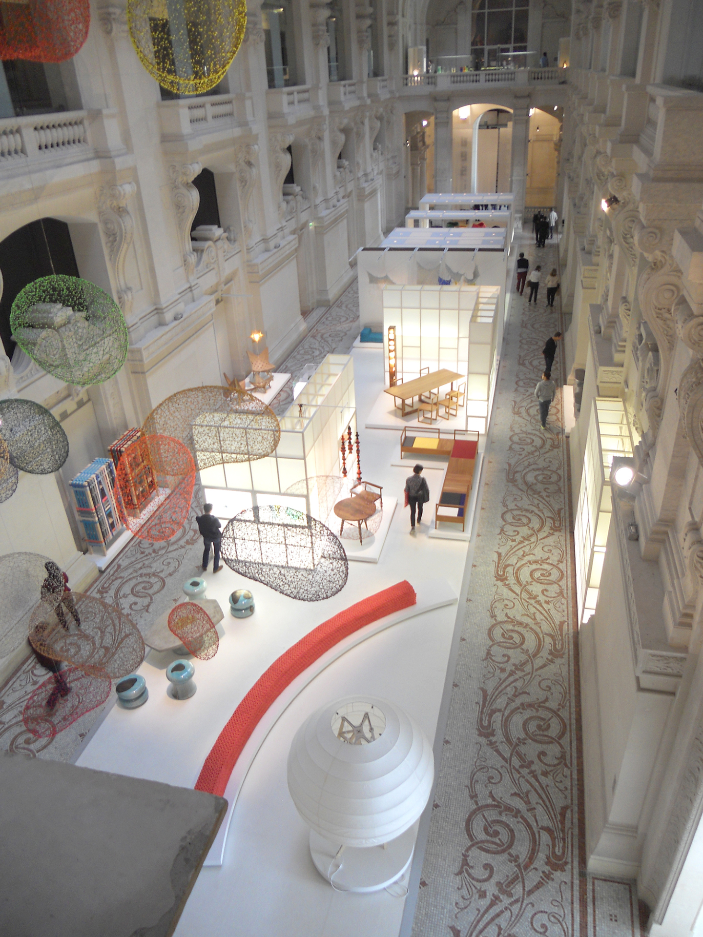 View of Exhibition from above