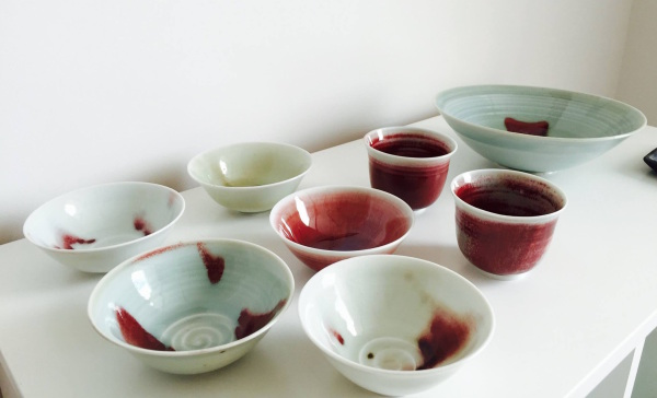 Juliet Ball: Porcelain bowls