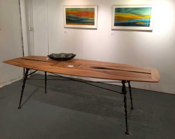 Willow Woodworks in collaboration with Stephen Quinn: Table