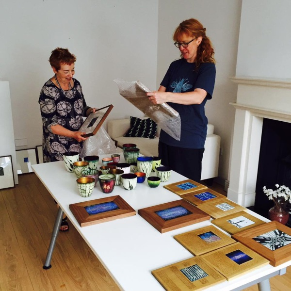 Unpacking the exhibition