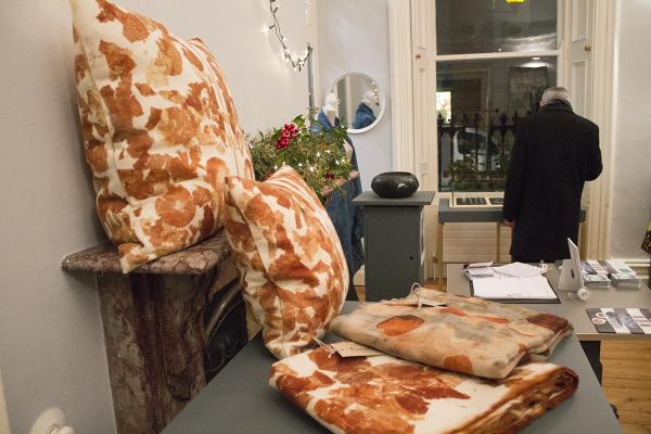 Cushions by Nicola Brown