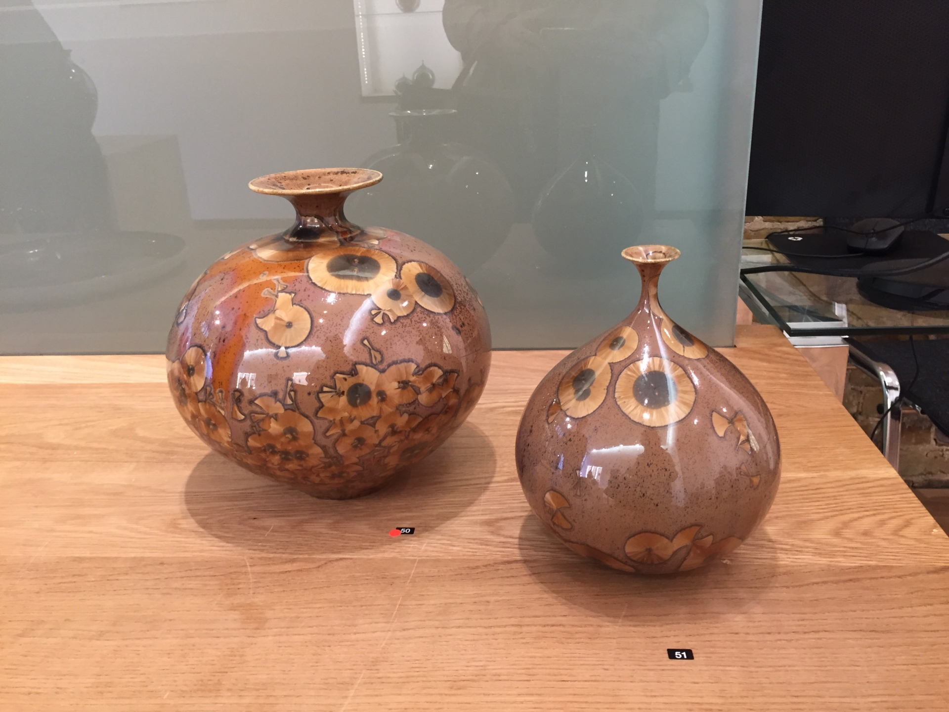 Matt Horne: 2 vase vessels