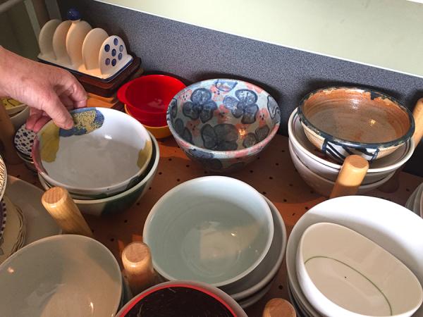 Various: Handmade bowls