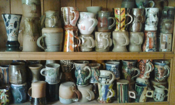 Which to choose? Mug collection at Rossmore