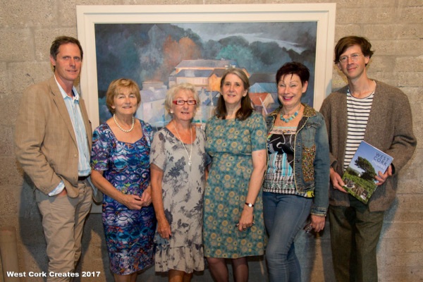 Michael Duerden, Rachel O'Keefe, Lal Thompson, Alison Ospina, Helen Collins and Manchán Magan