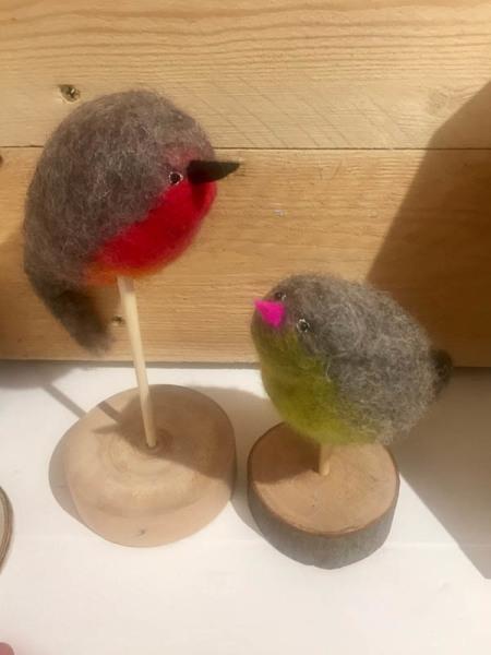 Jean Murphy felt birds