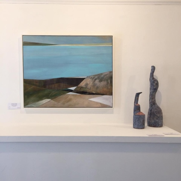 Ceramics: Jim Turner, Painting: Angela Fewer