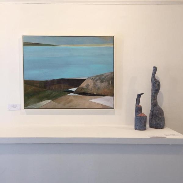 Ceramics: Jim Turner, Painting: Angela Fewer