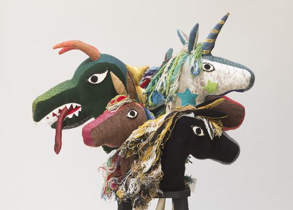 Katharine Griffith 'Hobby Horses, Unicorns & Dragons'