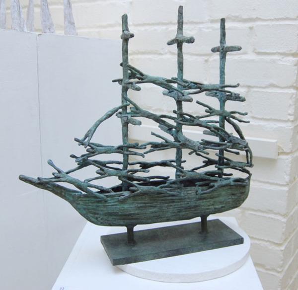 john behan kennys galway irish craft making Memorial Famine ship