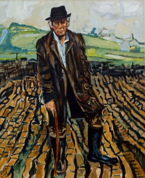 john behan kennys galway irish craft making Seamus Heaney Poet in Bogscape