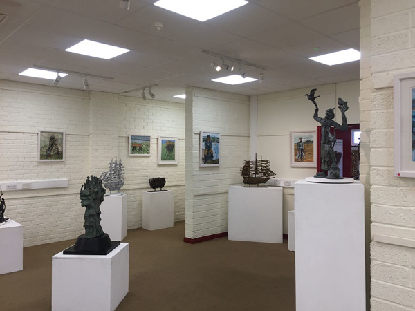 John Behan Kennys Gallery Galway 2017