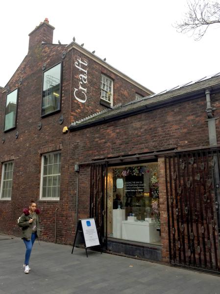 Bluecoat Display Centre : Street view College Lane