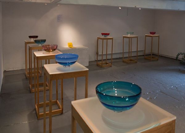 Lucinda Robertson Glass Irish Craft Making