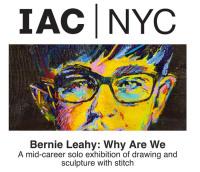 bernie leahy irish craft making new york arts center exhibition stitch