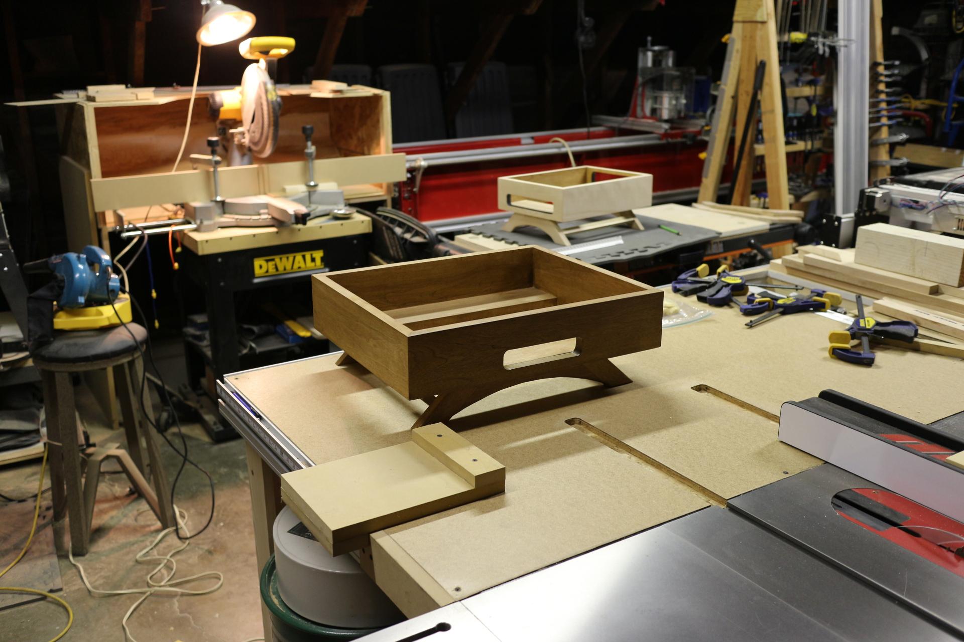 Midcentury modern turntable build