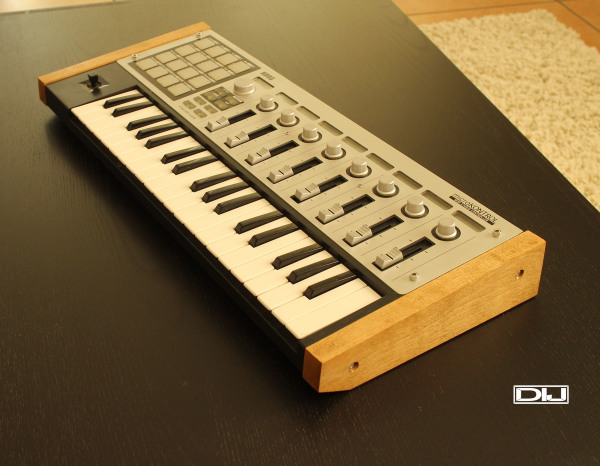 #Korg Keyboard; #Korg microKONTROL; #Audio wood trim; #wood wings
