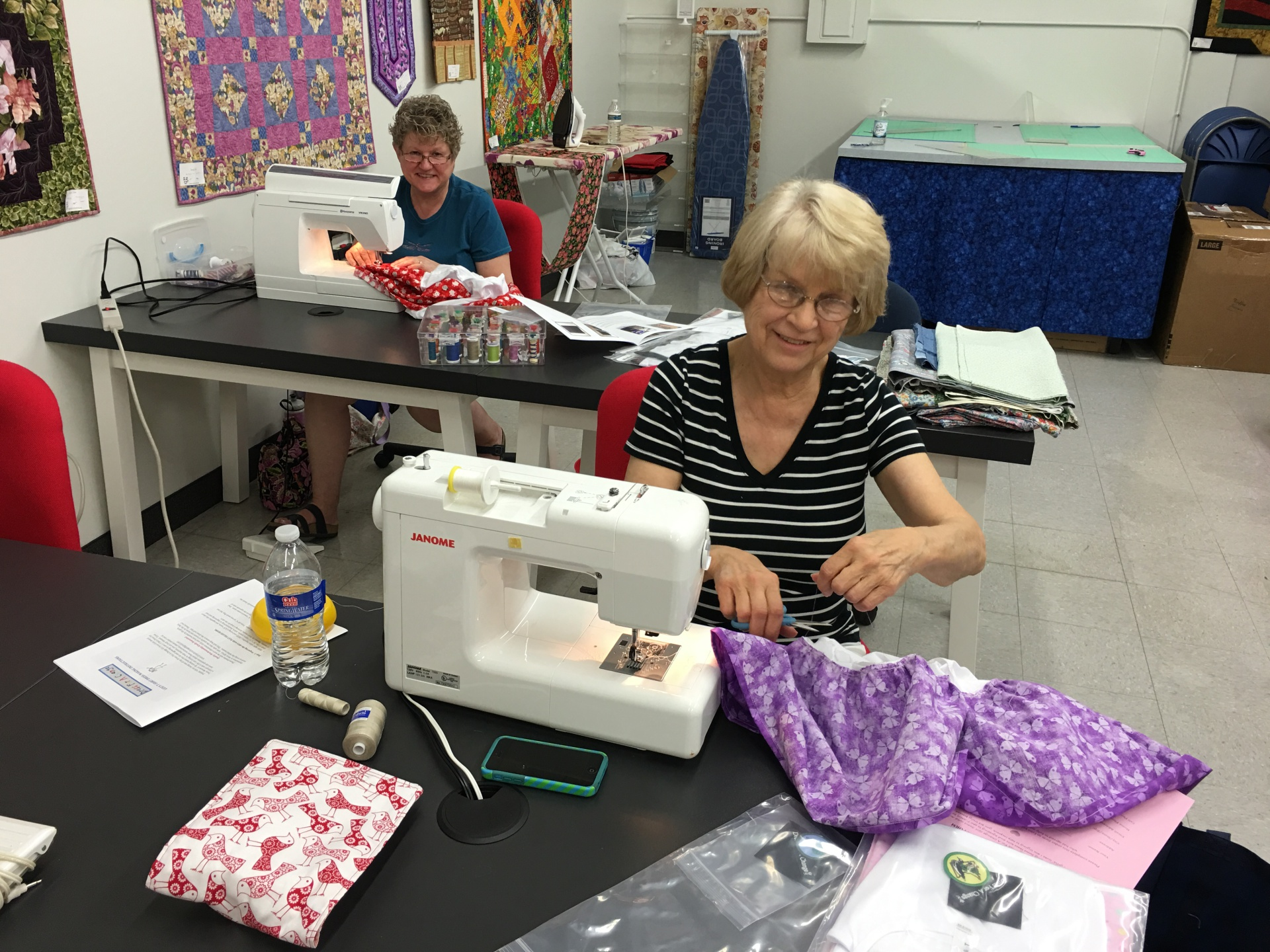 Blue Bamboo Sewers!