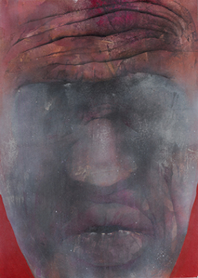 Marek Glowacki, Inverse II,  Graphite, pencil,pen, 3rd Prize 2015 Biennale