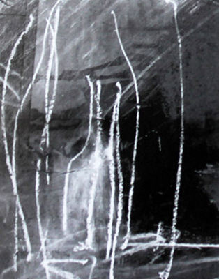 Diane Kilderry, Magnanamus2, Pastel, 2nd Prize 2001 Biennale