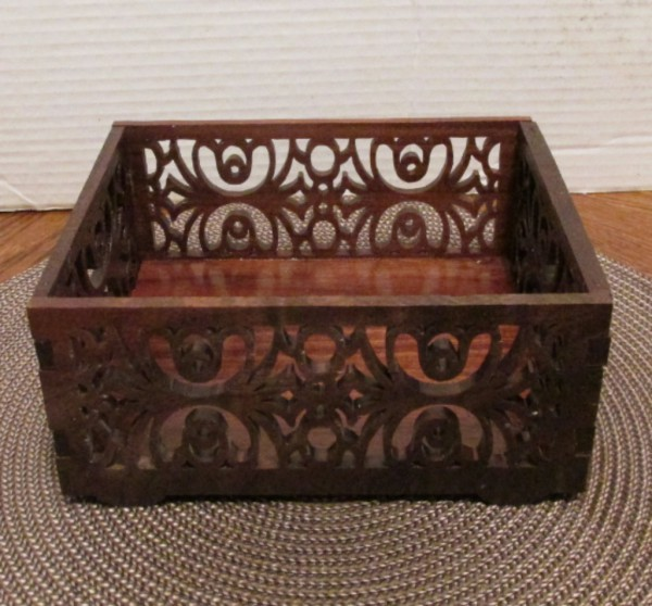 Small Fretwork Tray