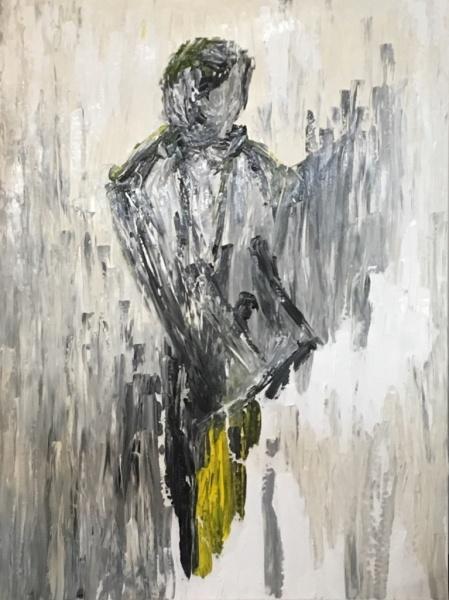 Verve, acrylic on canvas, original by Artist Mindy Lichter.  MLICHTER fINE ART dESIGN.