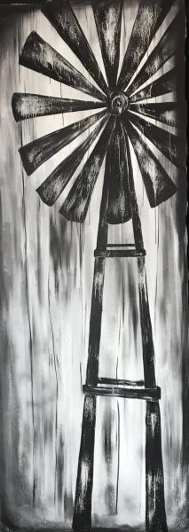 Winds of Change, acrylic on canvas, original by Artist Mindy Lichter.  MLICHTER fINE ART dESIGN.