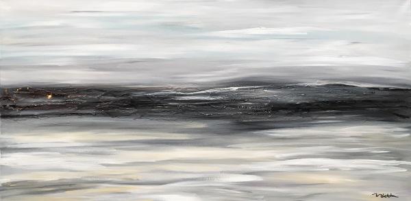 Chill, acrylic on canvas, original by Artist Mindy Lichter.  MLICHTER fINE ART dESIGN.