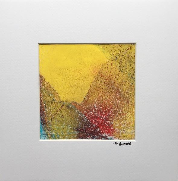 Primary Focus 2, acrylic on canvas, original by Artist Mindy Lichter.  MLICHTER fINE ART dESIGN.