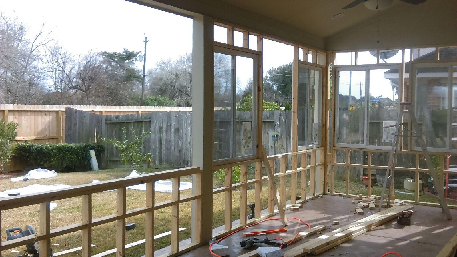Framing, Addition, Extra Room