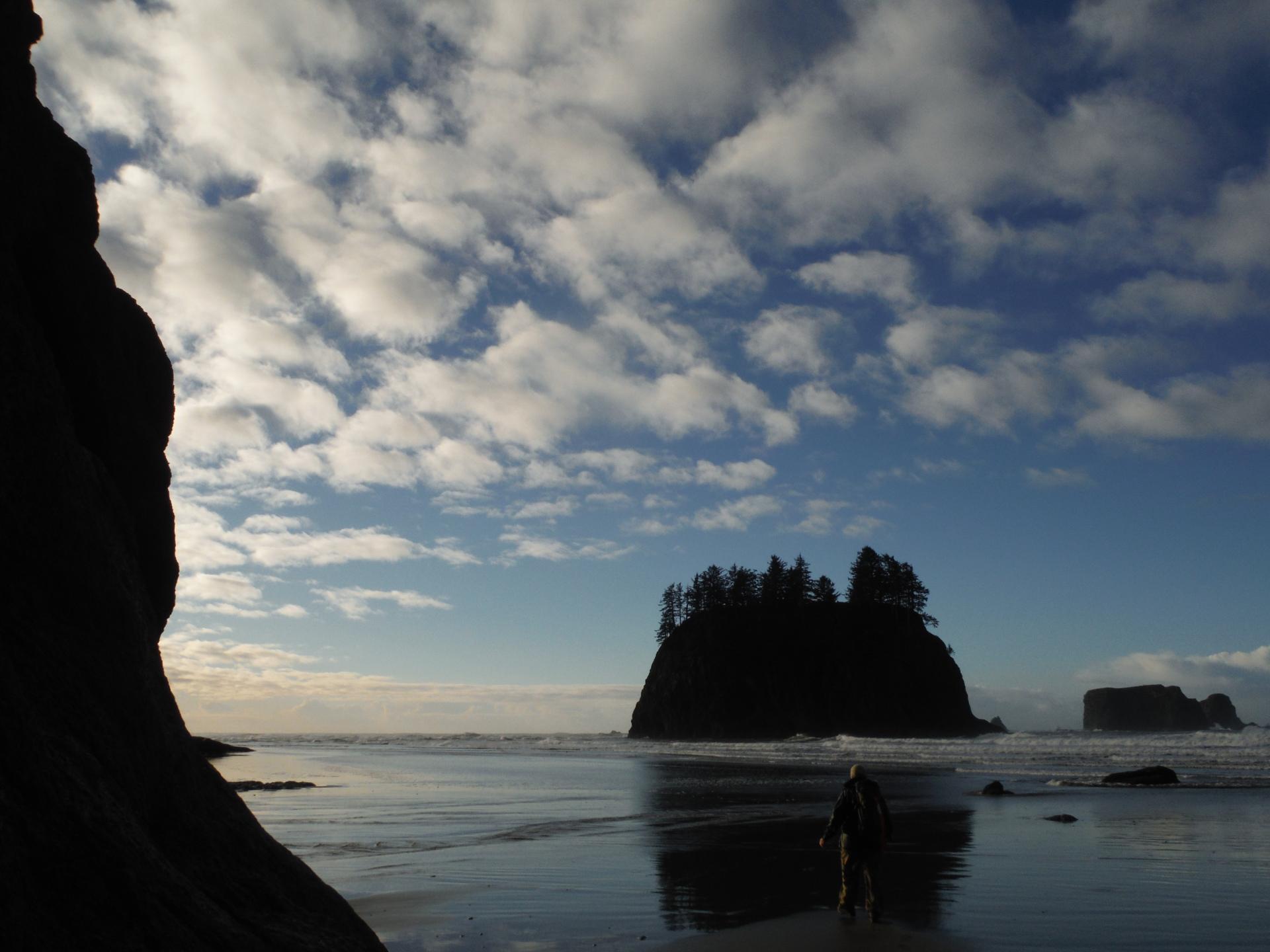 Pacific Coast, Sea stack