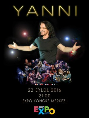 Yanni EXPO2016 Antalya'da