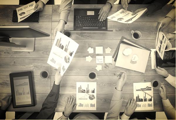 San Diego marketing strategists working together