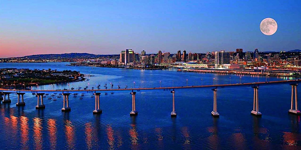 San Diego vista: Home of the marketing strategist Moran Consulting San Diego
