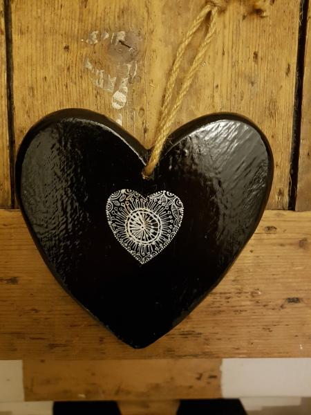 Swedish Folklore Heart