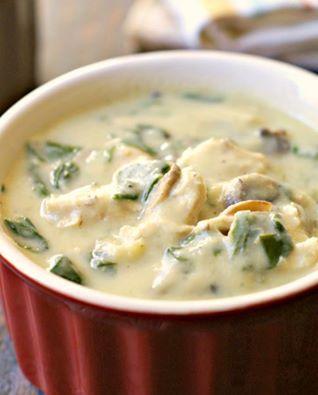 December Creamy Chicken (Noodle) Soup