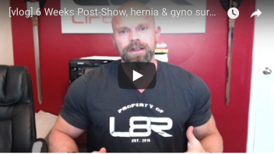 [vlog] 6 Weeks Post Show...surgeries and more