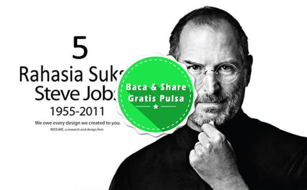 youindo.com - 5 Rahasia kesukses dari Steve Jobs yang menginspirasikan