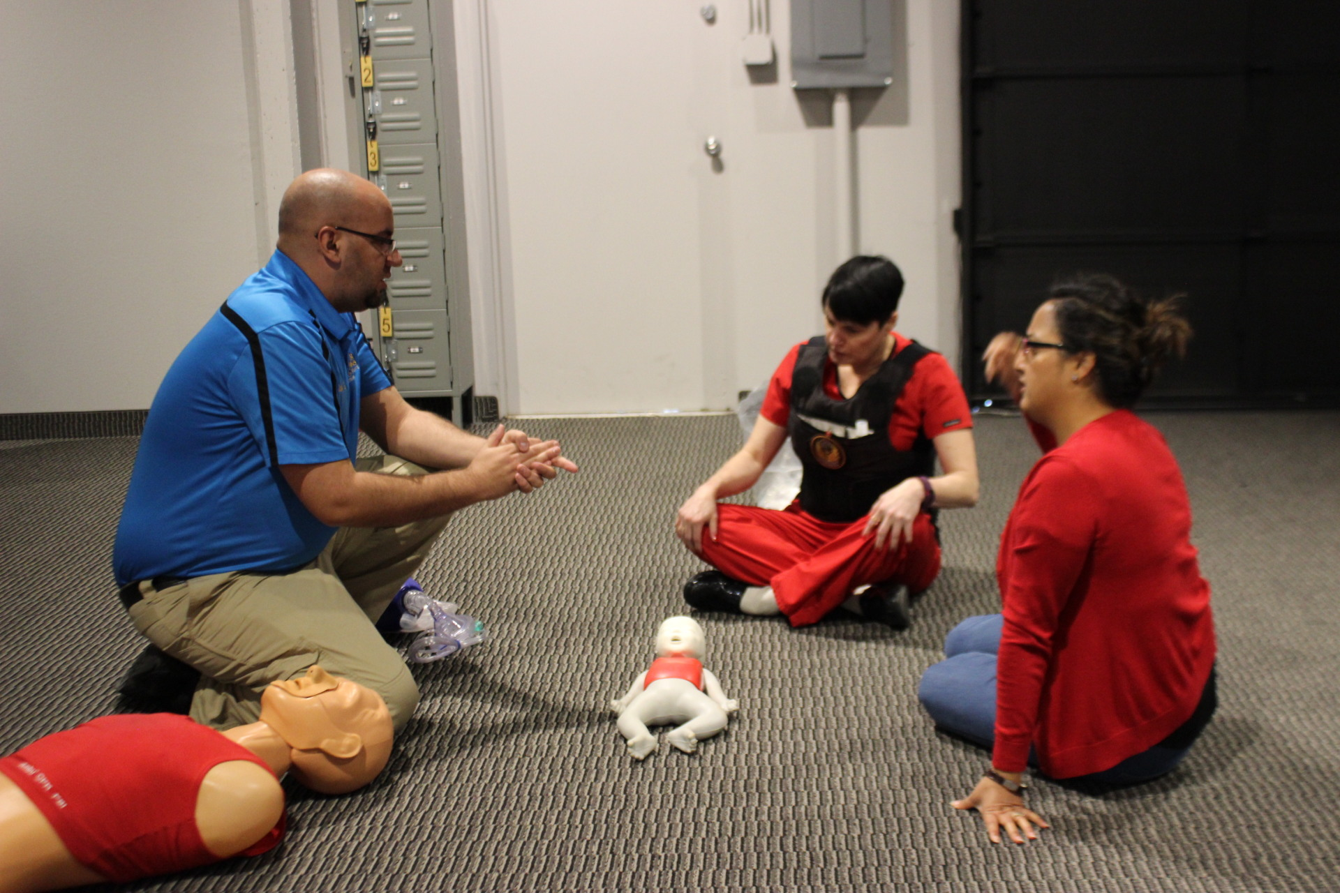Refreshing the basics on Infant CPR