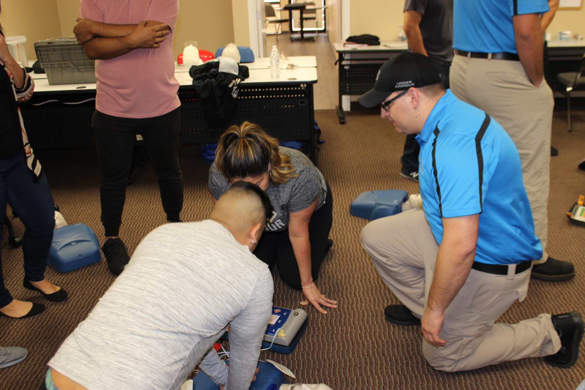 """Compressions 2"""" deep are critical for delivering High Quality CPR"""