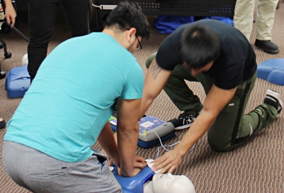 Working together when performing CPR is crucial